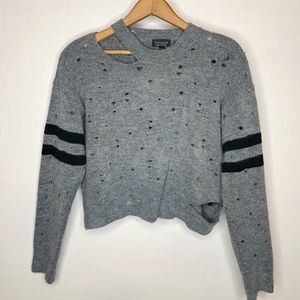 TopShop Hole Sweater